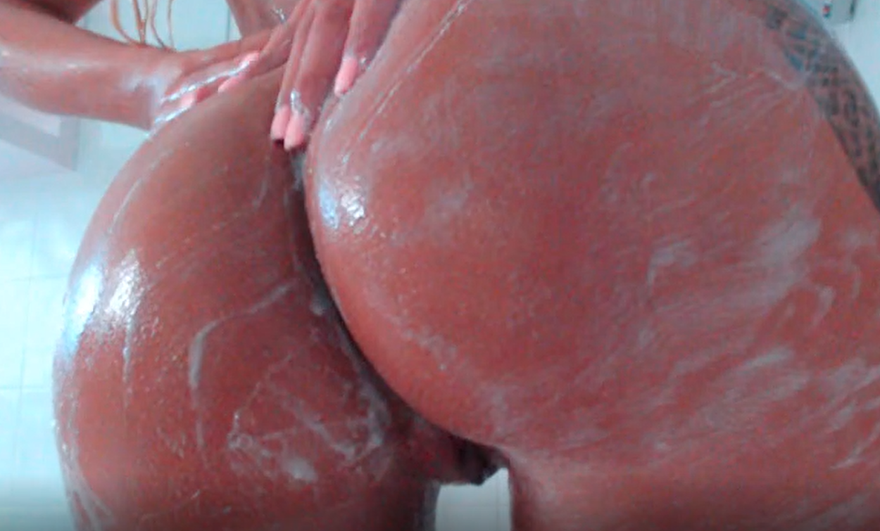 032. Soapy Shower Cum